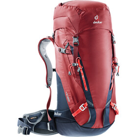 Deuter Guide 35+ Zaino, cranberry-navy